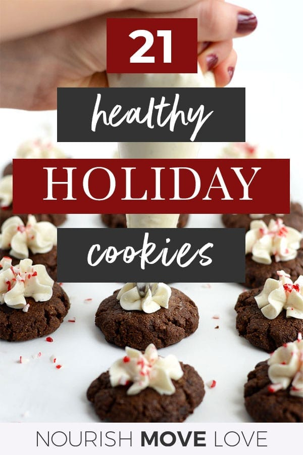 21 Healthy Christmas Cookie Recipes | Healthy Holiday Cookies