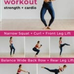 Barre Workout | Cardio Bare at home workout