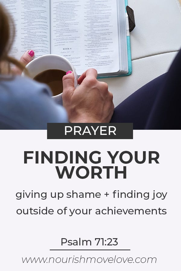 Finding your worth | giving up shame and guilt | Bible Study for Women | Finding Joy