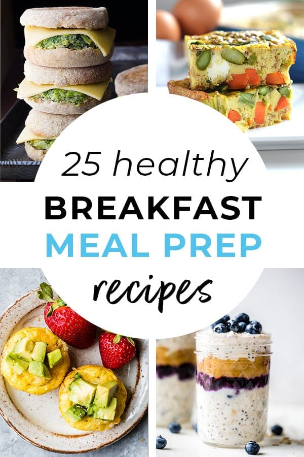 Breakfast Meal Prep Ideas | Healthy meal prep recipes | breakfast recipes