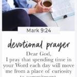 short prayer   how to grow in faith