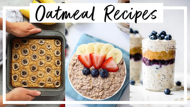 Healthy oatmeal recipes | meal prep breakfast ideas | Meal prep breakfast recipes