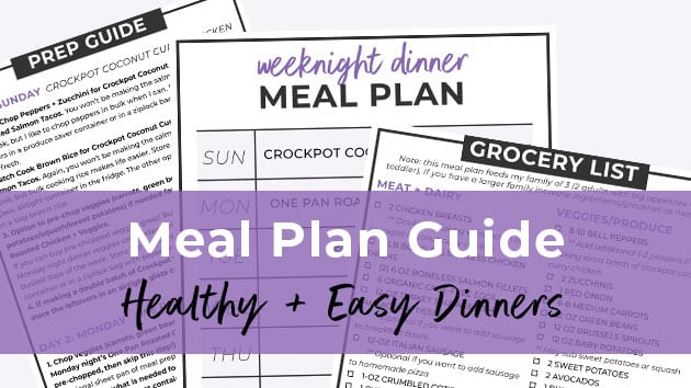 Meal Plan Guide | How to meal plan | How to Meal Prep | Weekly Meal Plan | weekly meal prep
