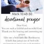 devotional prayer   prayer for asking God