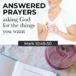 Answered prayers: praise ask thank you | how to ask God for things