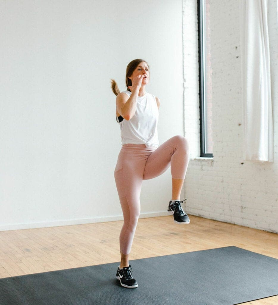High Knees   body weight exercises