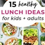 Healthy lunch ideas | healthy lunch ideas for kids and adults
