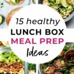 lunch box ideas | lunch box meal prep