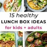 lunch meal prep | lunch ideas for adults and kids