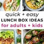 lunch box ideas for work