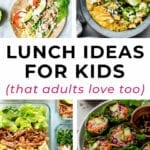 lunch ideas for kids | packable lunches