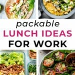 lunch ideas for work | lunch box ideas
