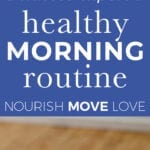 Healthy Morning Routine | Fertility supplements