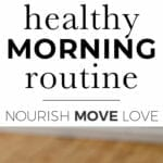 Trainer Tips: healthy morning routine