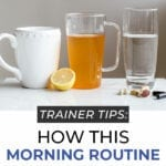 detox tea morning routine