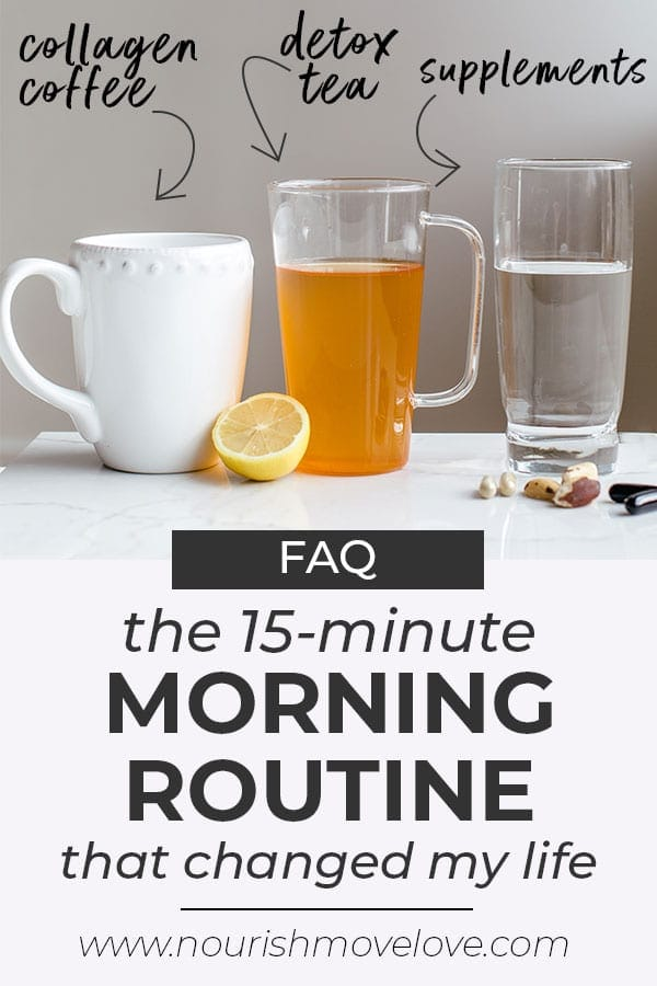 morning routine | trainer tips | be a morning person | Start your day with 8 oz of water