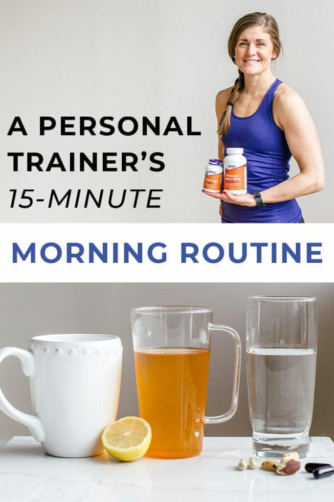 morning routine | trainer tips | be a morning person | personal trainer's morning routine