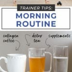 morning routine | trainer tips for healthy morning