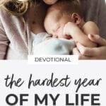 devotional prayer | postpartum anxiety and depression