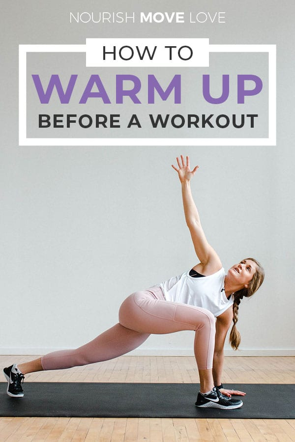 Warm up exercises | how to warm up for a workout | 5 minute warm up for at home workout