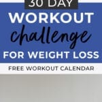workout challenge for weight loss