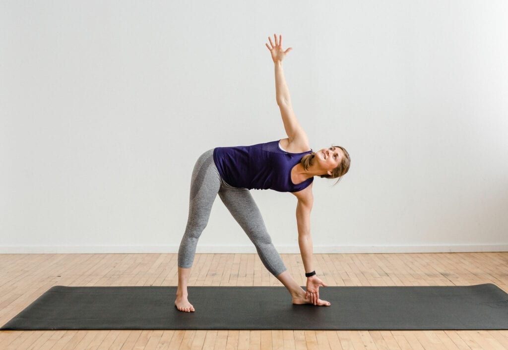 Power Yoga Triangle Pose