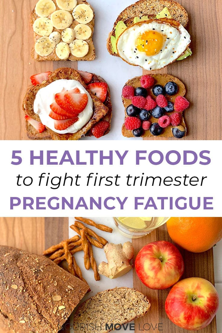 Pregnancy fatigue | 5 foods for the first trimester