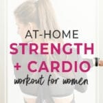 At home strength workout for women