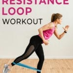 resistance loop workout | booty bands