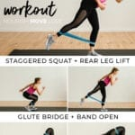 lower body booty band workout