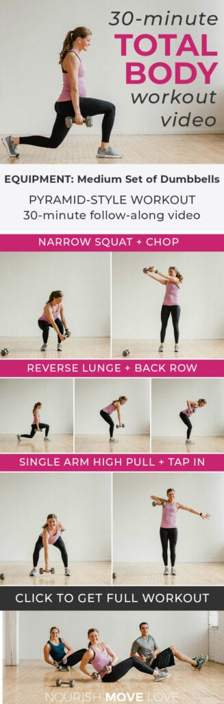 Full Body Dumbbell Workout At Home