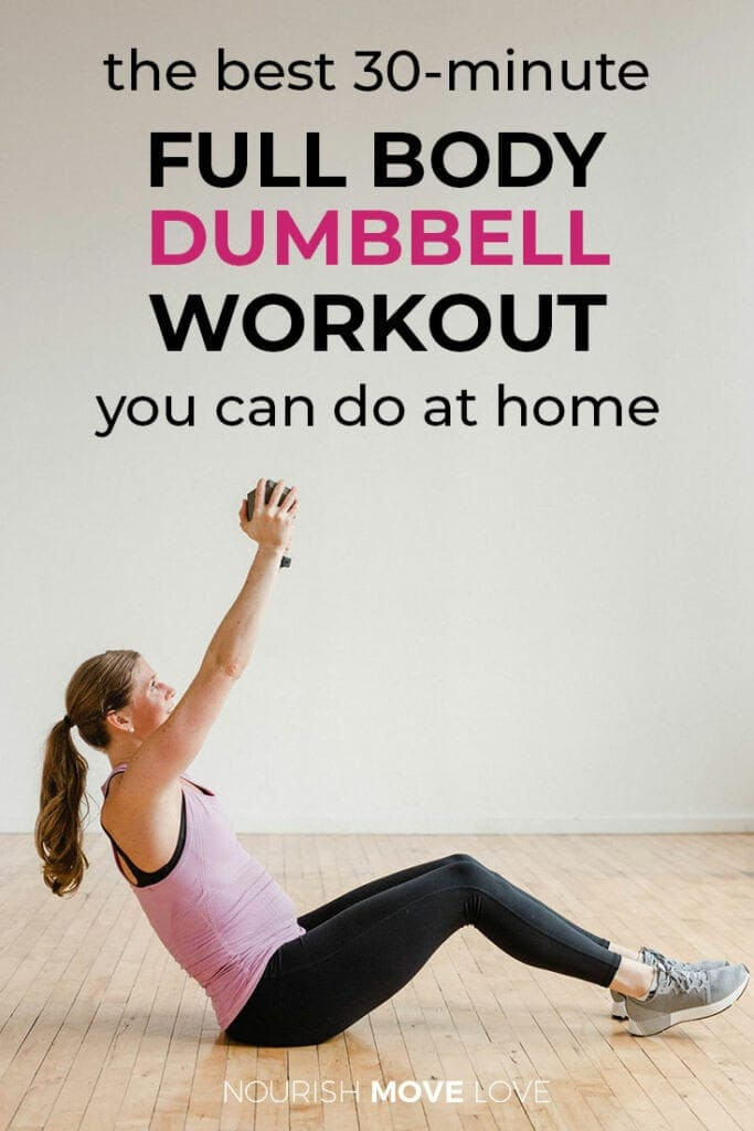 Full Body Dumbbell Workout | Dumbbell Workout At Home