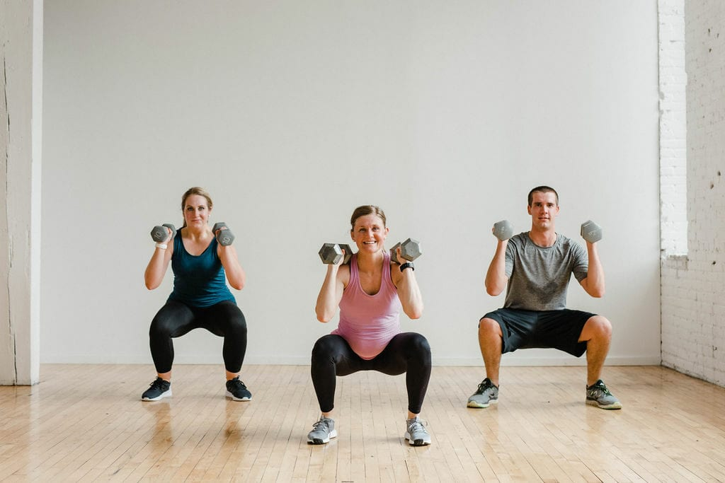 Free weight workouts