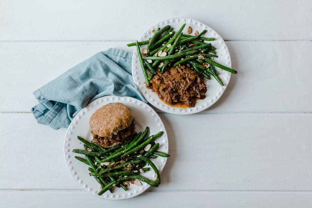 Shredded BBQ Beef Sandwiches | Simple Dinner Ideas