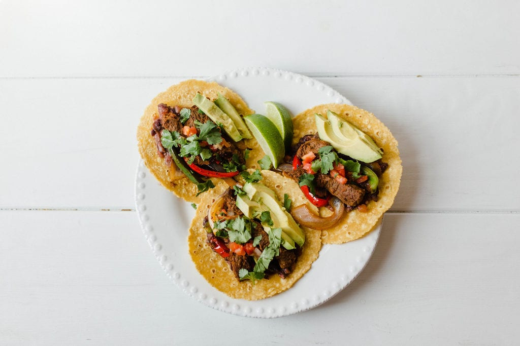 Steak and Black Bean Tacos | weeknight dinner ideas