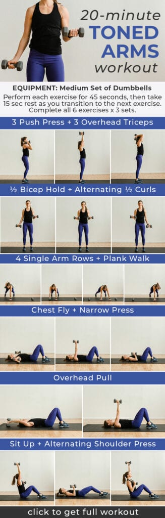 Arm workouts for women | Toned Arms Workout