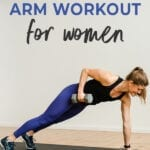 Arm Workout With Dumbbells | At Home Workout for Women