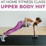 upper body hiit | upper body workout