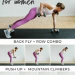 at home arm workout for women