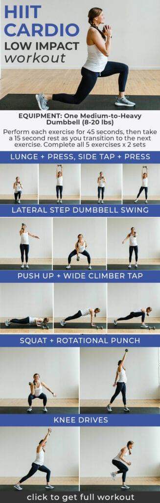 Low Impact HIIT Cardio Workout