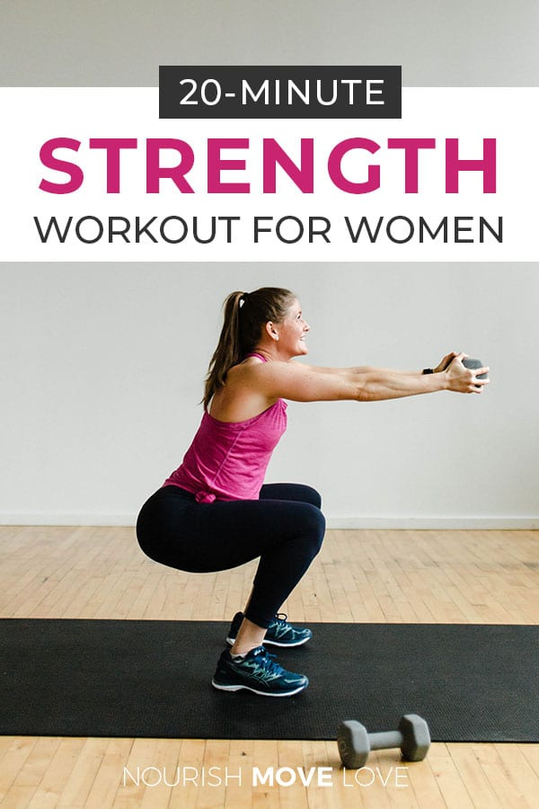 Strength workout for women