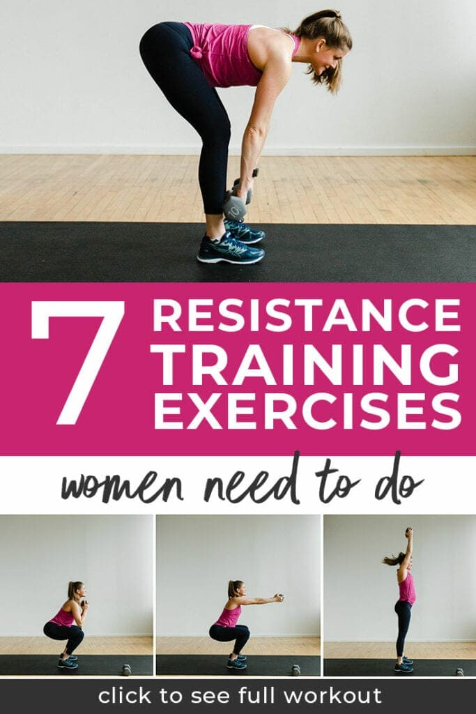 7 Resistance Training Exercises for Women