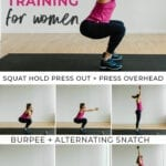 Resistance training | workout for women