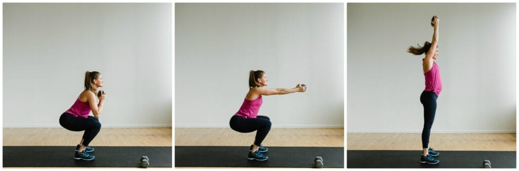 Resistance Training | Squat Hold Exercise