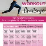 Workout Calendar and workout schedule