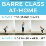 Barre Class at home | barless barre | barre fitness
