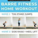 home workouts | barre fitness home workout