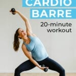 20 minute workout | cardio barre workout