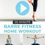 Barre Class At Home Workout | Barre Fitness