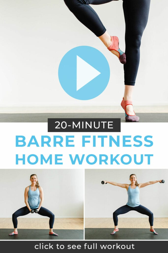 Barre Class At Home Workout